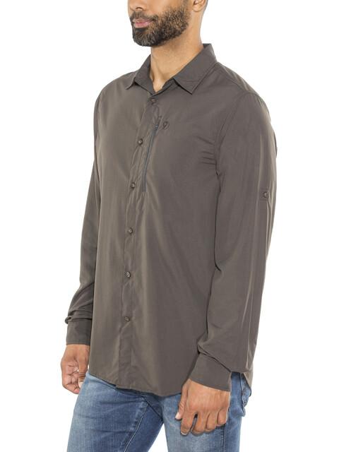 Fjällräven Abisko Hike Shirt LS Men dark grey